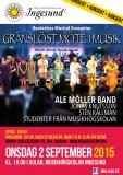 SHOW - ALE MÖLLER BAND & STUDENTER - BORDERLESS MUSICAL ENCOUNTER
