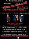 WERMLAND BIG BAND - RIGMOR GUSTAFSSON - ANDREAS JONSSON