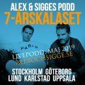 ALEX & SIGGES PODD - 7-ÅRSKALAS